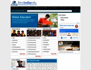 bestindiaedu.com screenshot