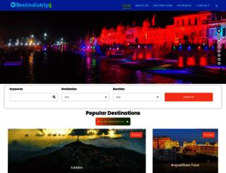 bestindiatrip.com screenshot