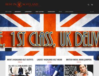 bestinscotland.co.uk screenshot