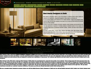 bestinteriorsindia.com screenshot