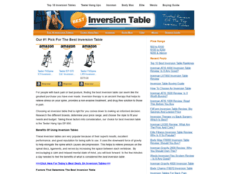 bestinversiontable.com screenshot
