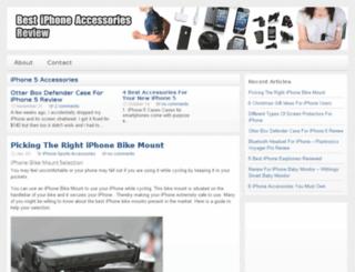 bestiphoneaccessoriesreview.com screenshot
