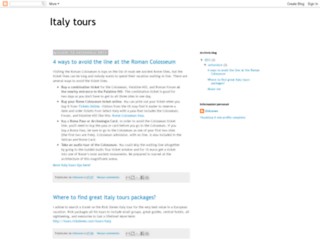 bestitalytours.blogspot.it screenshot