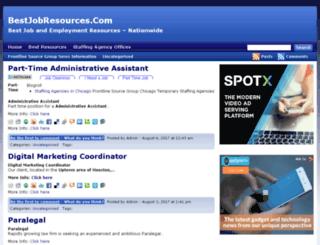 bestjobresources.com screenshot