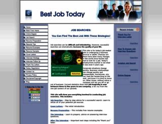 bestjobtoday.com screenshot
