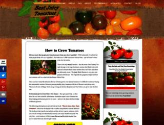 bestjuicytomatoes.com screenshot