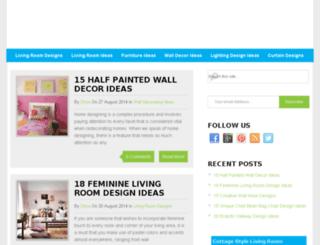 bestlivingroomdesigns.com screenshot