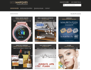 bestmarques.com screenshot