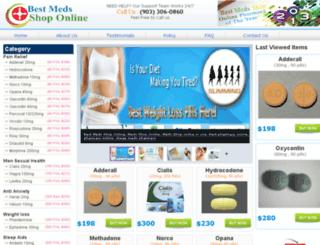 bestmedsshoponline.com screenshot