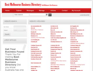 bestmelbournebusinessdirectory.com.au screenshot