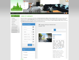bestmexicoapartments.com screenshot