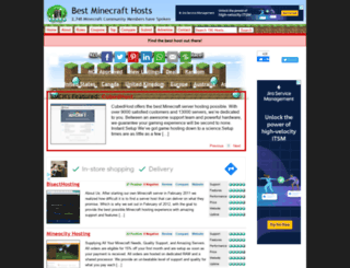 bestminecrafthosts.com screenshot