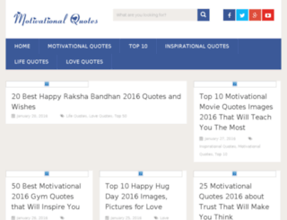 bestmotivationalquotes.org screenshot