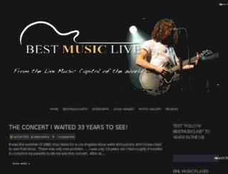 bestmusiclive.com screenshot