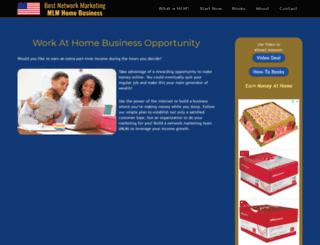 bestnetworkmarketingmlm.com screenshot