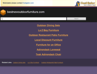 bestnewoutdoorfurniture.com screenshot