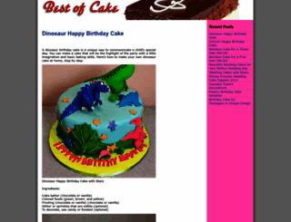 bestofcake.com screenshot