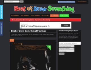bestofdrawsomething.com screenshot