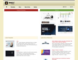 bestofjoomla.com screenshot