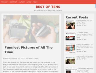 bestoftens.com screenshot