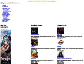 bestonlinerpggames.com screenshot