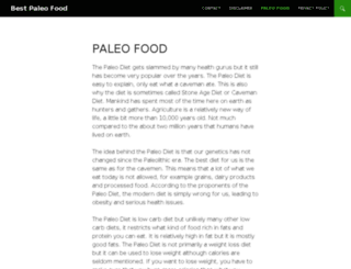 bestpaleofood.com screenshot