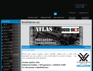 bestpatron.shop5.cz screenshot