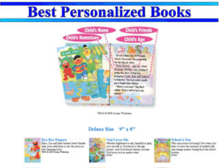 bestpersonalizedbooks.com screenshot