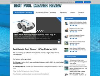 bestpoolcleanerreview.com screenshot