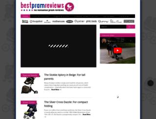 bestpramreviews.com screenshot