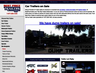 bestpricetrailers.com screenshot