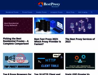 bestproxyreviews.com screenshot
