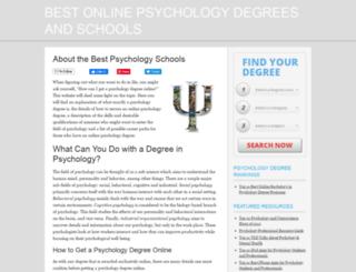 bestpsychologyschoolsonline.com screenshot