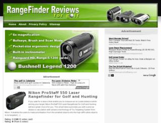 bestrangefinderforgolf.com screenshot