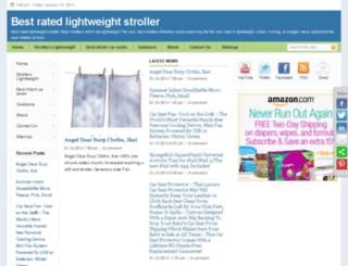 bestratedlightweightstroller.com screenshot