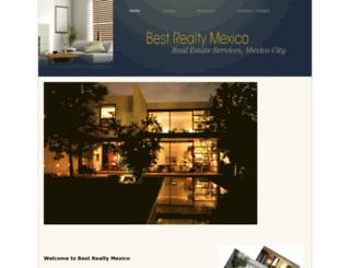 bestrealtymexico.com screenshot