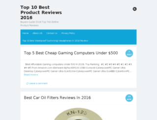 bestreviews2016.com screenshot