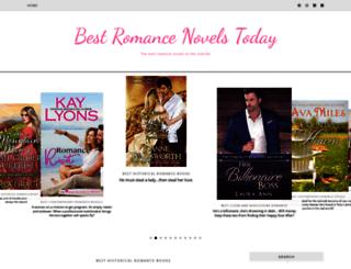 bestromancenovelstoday.com screenshot