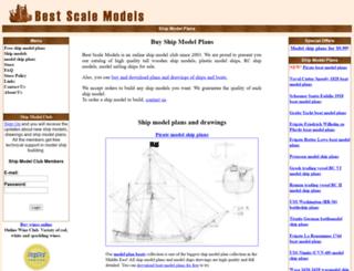 bestscalemodels.com screenshot