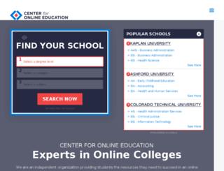 bestschools.com screenshot