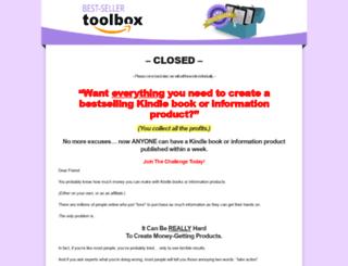 bestsellertoolbox.com screenshot