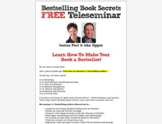 bestsellingbooksecrets.com screenshot