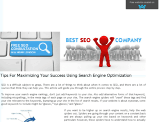bestseocompanylondon.sitew.org screenshot