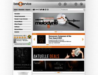 bestservice.de screenshot