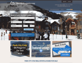 bestskiproperty.com screenshot