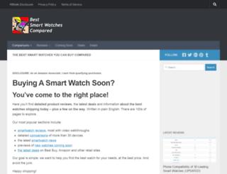 bestsmartwatchescompared.com screenshot
