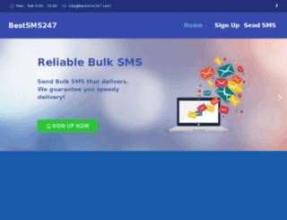 bestsms247.com screenshot
