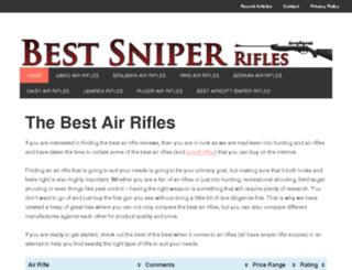 bestsniperrifles.com screenshot