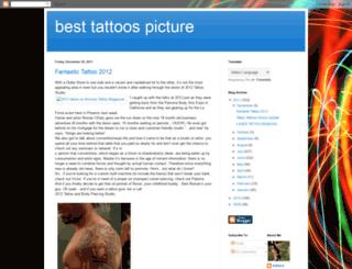 besttattoospicture.blogspot.com screenshot