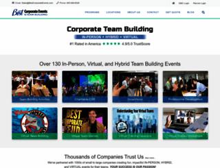 bestteambuilding.com screenshot